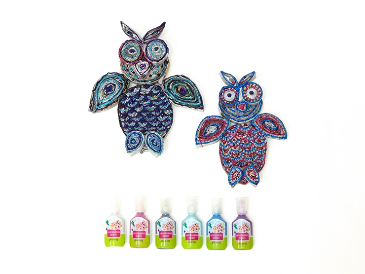How to make paper owls