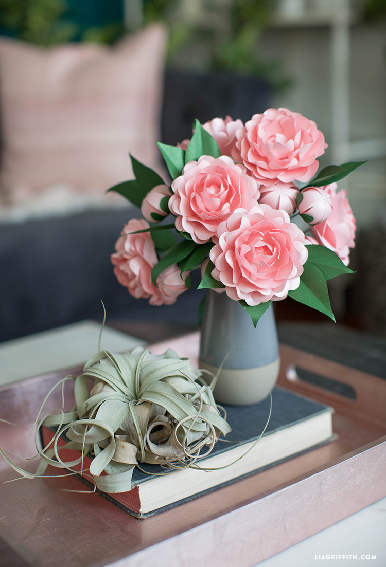 13 Mother's Day Gifts That Mom Will Use! Paper Camellias
