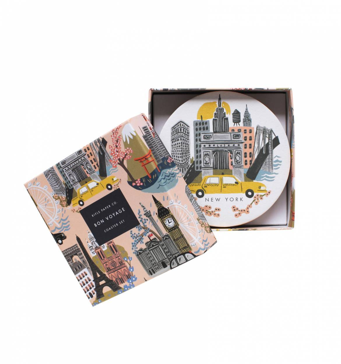 City Coasters by Rifle and Co.
