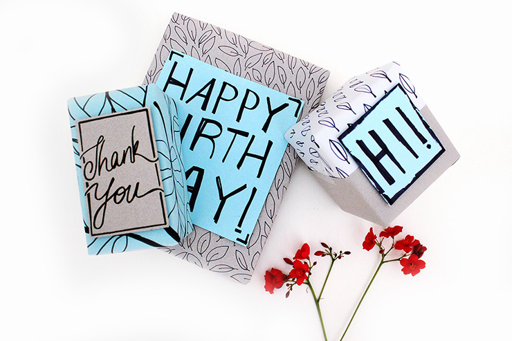 Cheap DIY Gift Wrapping