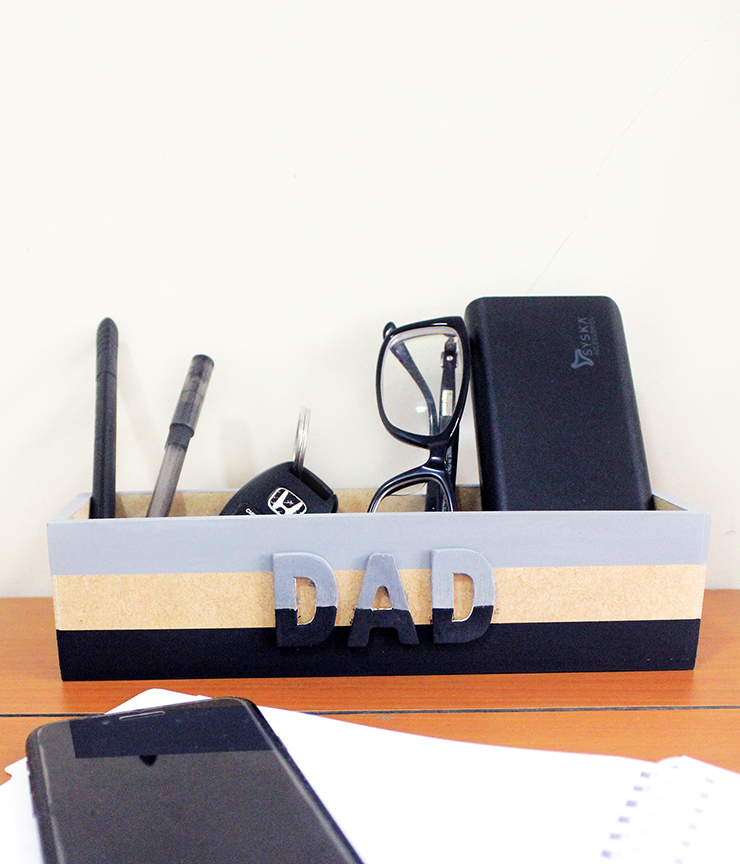 Father's DAY Catchall Tray Tutorial Idea