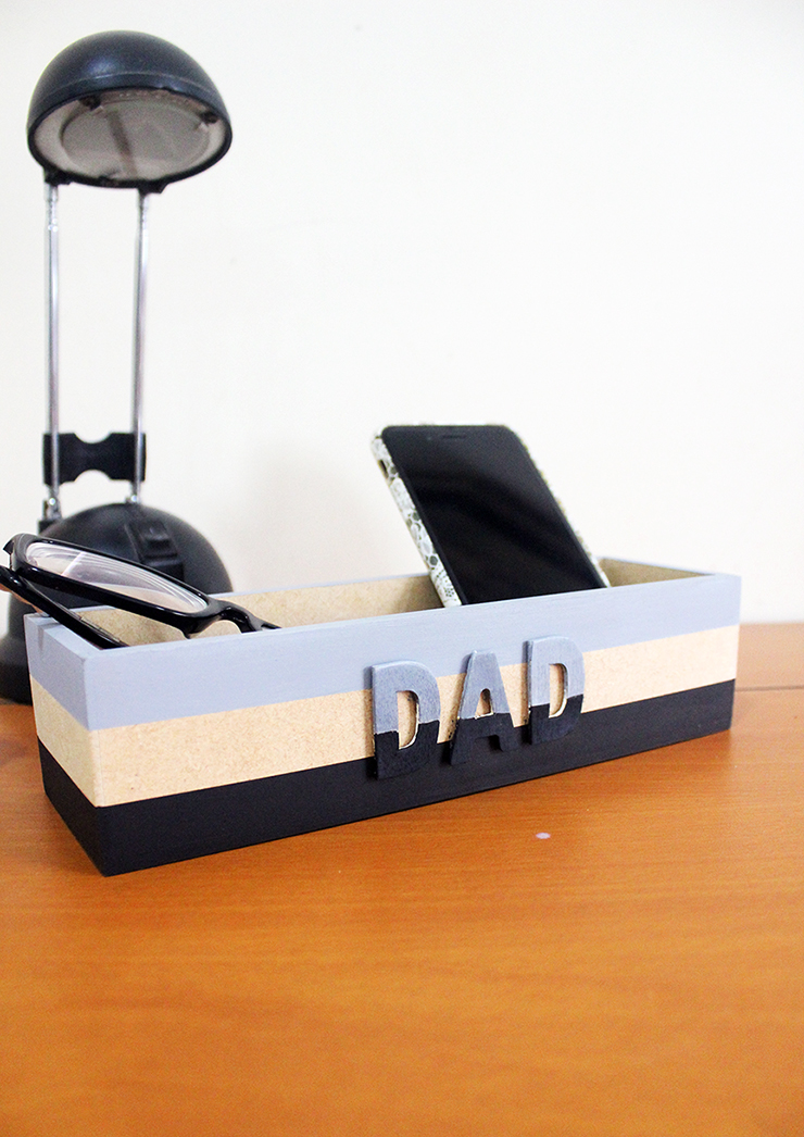 Father's Day DIY Catchall Tutorial