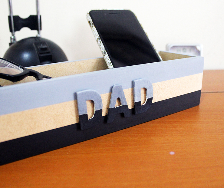 How to make a DIY Catchall Tutorial for Father's Day