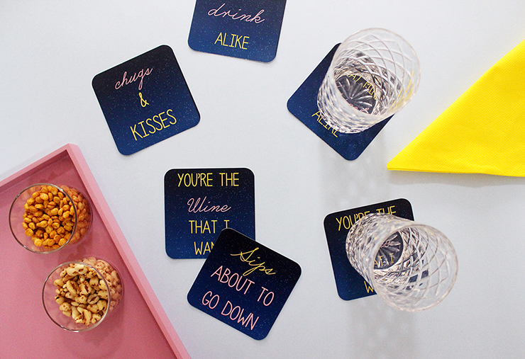 How to make coasters diy tutorial printable