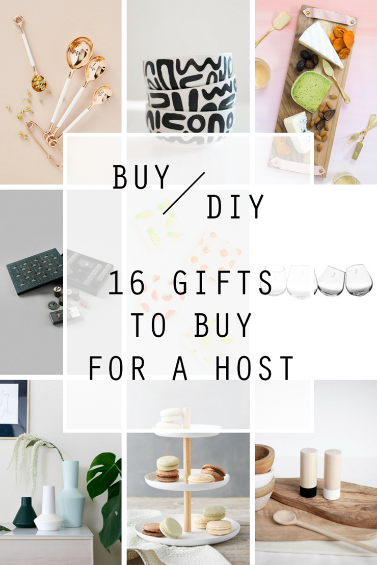 16 GIFTS TO BUY FOR A HOST | BUY OR DIY | THE CRAFTABLES