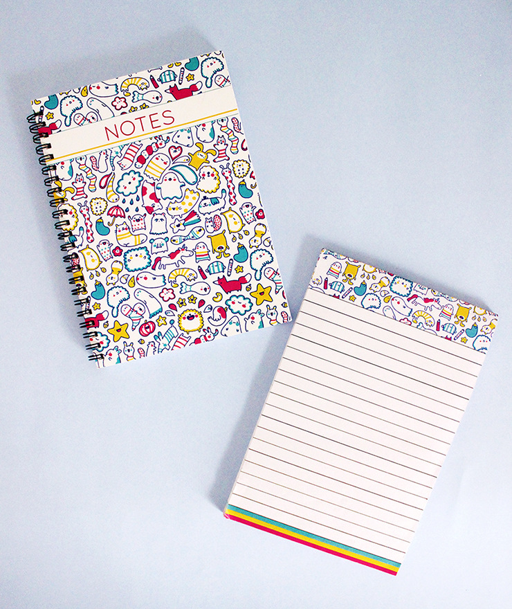 Customised Doodled Stationery for kids   The Craftables