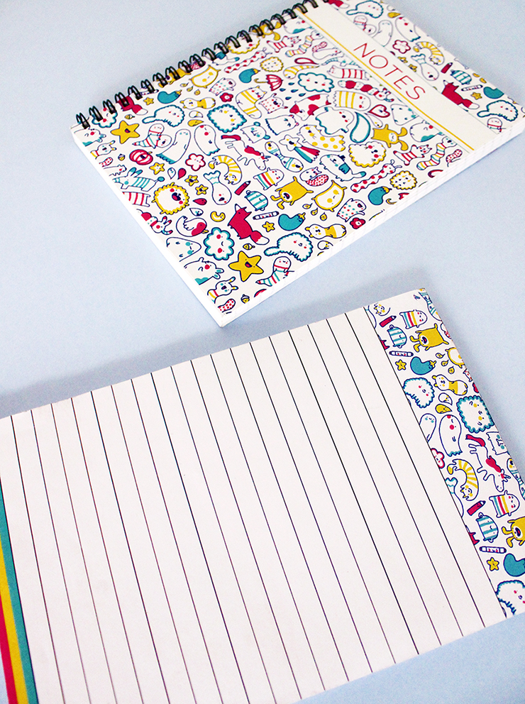 Customised stationery | Have doodled stationery designed | The Craftables
