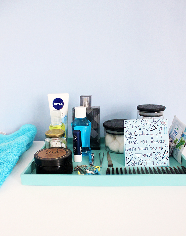 Emergency Bathroom Kits for Parties by The Craftables