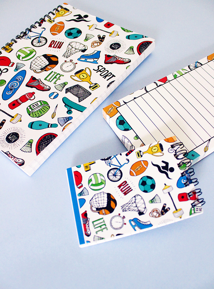 Have customised doodled stationery made with The Craftables