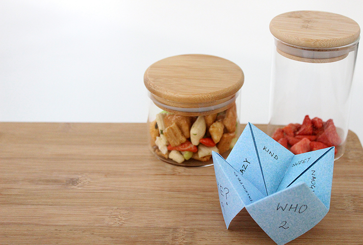 How to make a papercraft chip chop with free printable   The Craftables