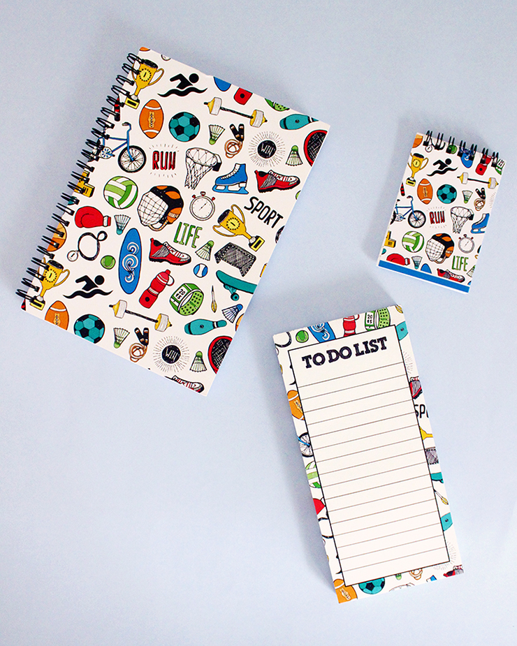 Order personalised doodled stationery | The Craftables