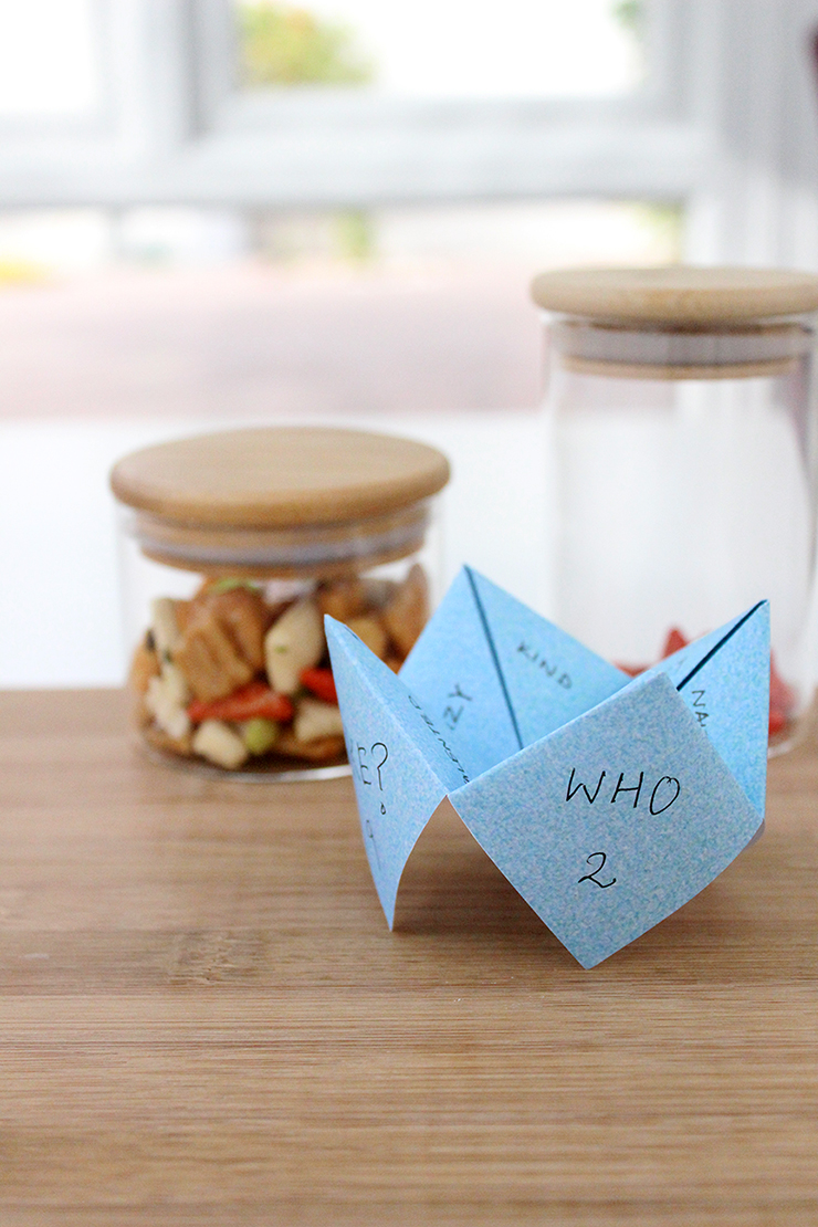printable papercraft chip chops idea for family game for parties | The Craftables