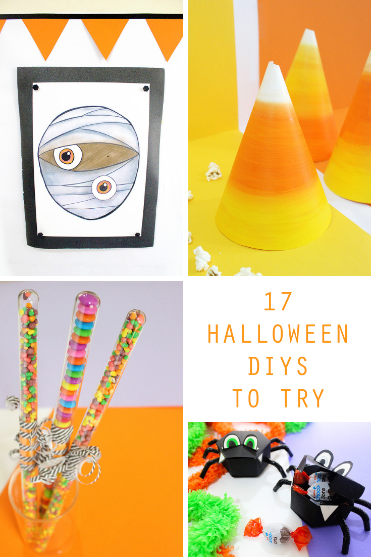 Halloween Themed DIYs to Try / Feeling Crafty!