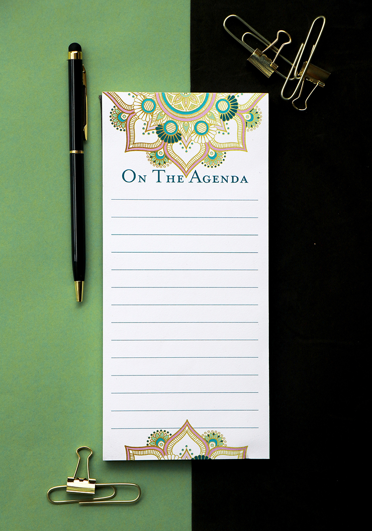 Mandala Stationery Set by The Craftables | Magnetic To Do List