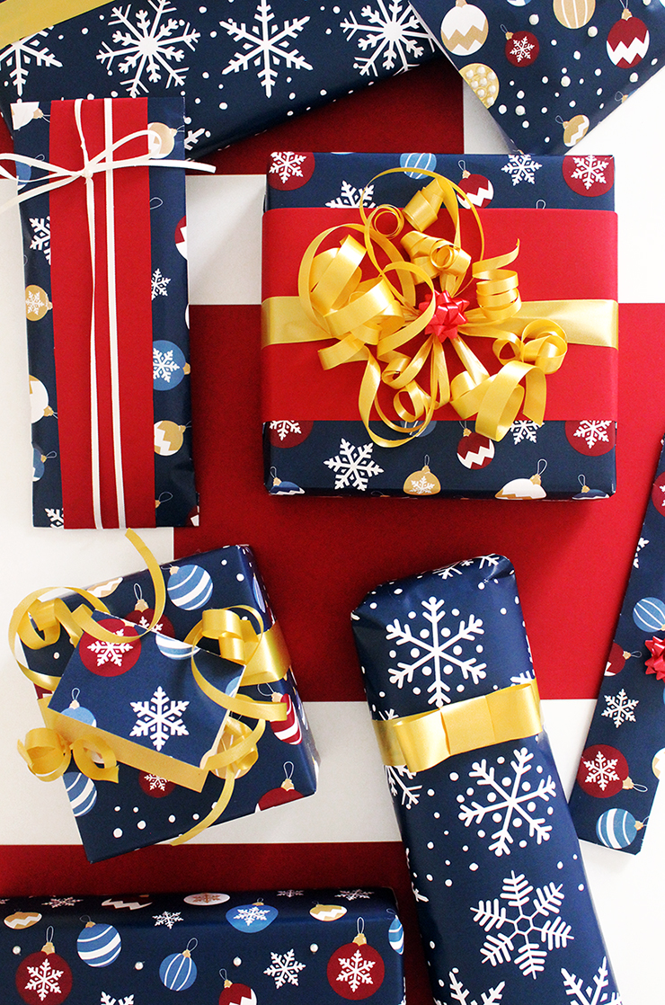 Last Minute Holiday Wrapping Paper | Christmas Printables | The Craftables Tutorial