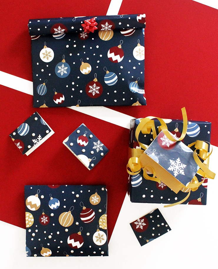 Print and use Holiday Wrapping Paper   Christmas Printables   The Craftables
