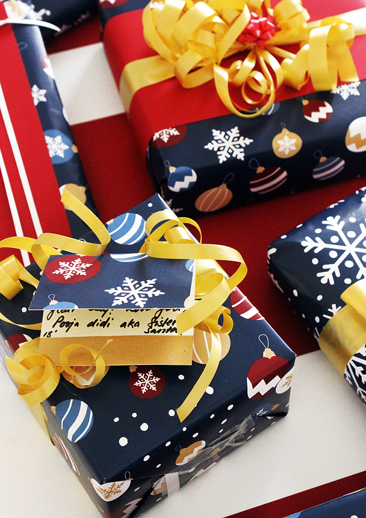 Printer friendly Last Minute Holiday Wrapping Paper   Christmas Printables   The Craftables