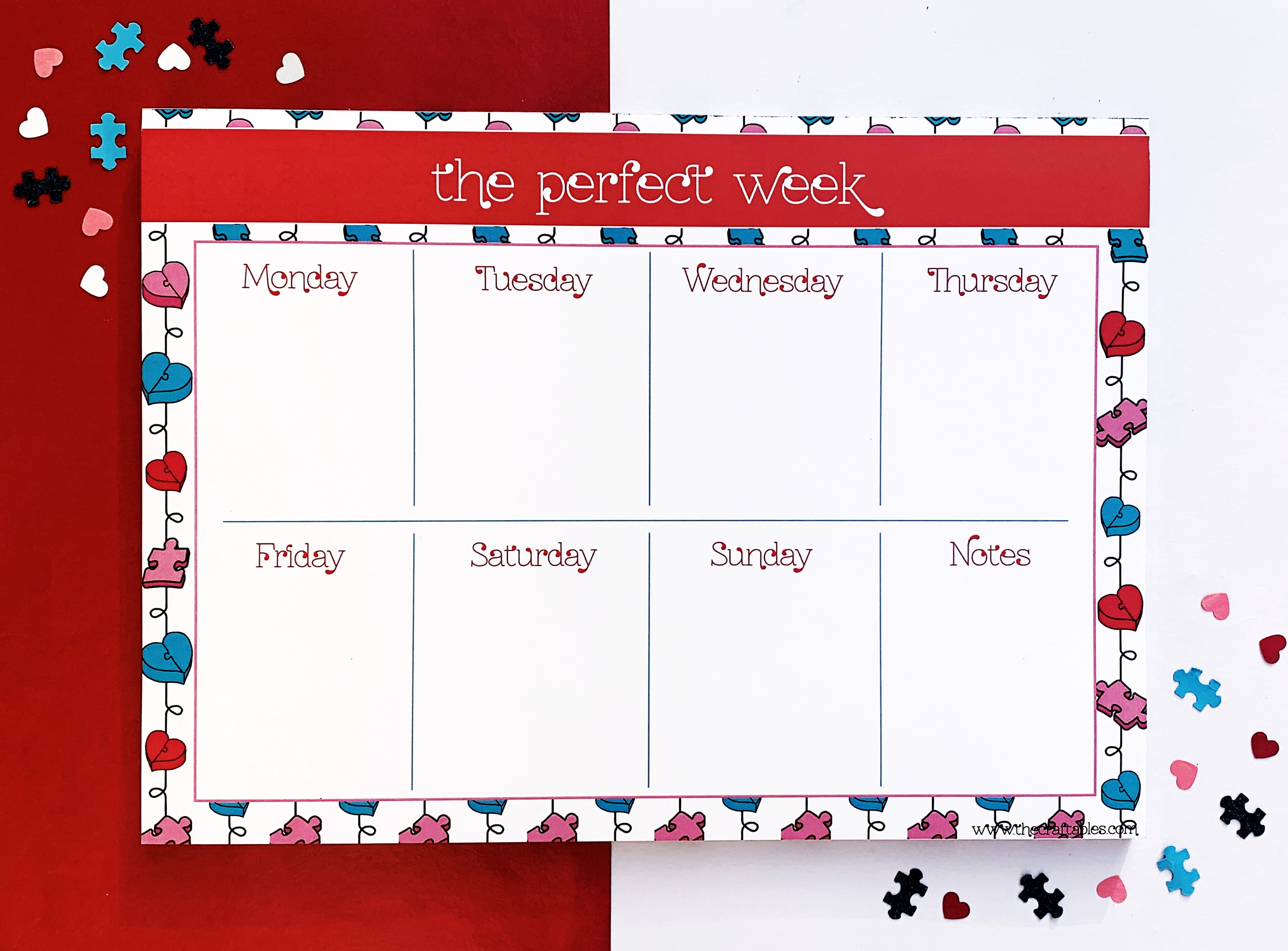 Aloha Weekly Planner | The Craftables Stationery