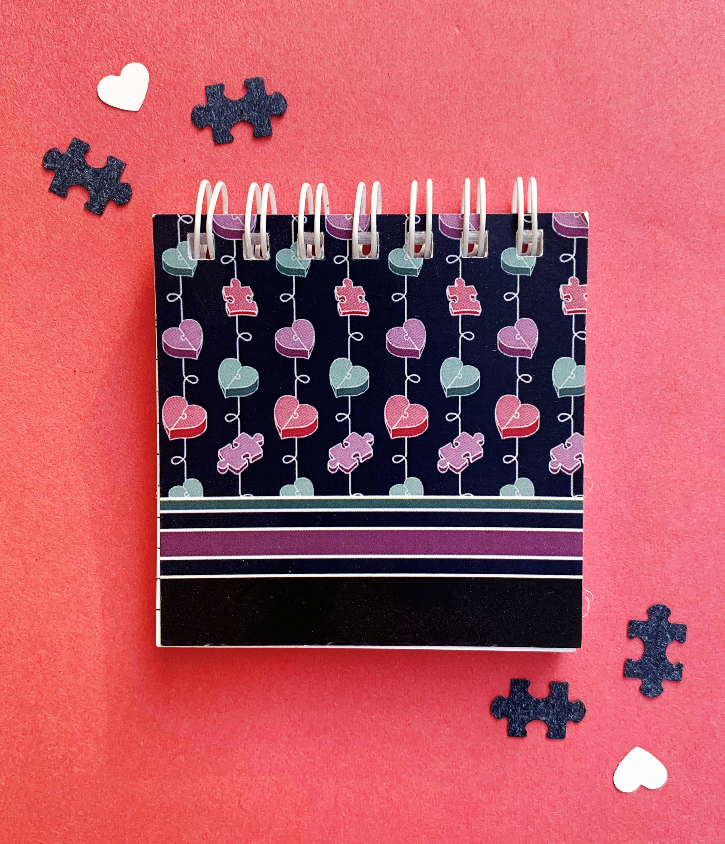 Mini Notepad   Amor Perfect Fit   The Craftables Stationery