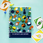 Alien Space Ranger Notebook | Customised Notebooks, Binders, Notepads by The Craftables