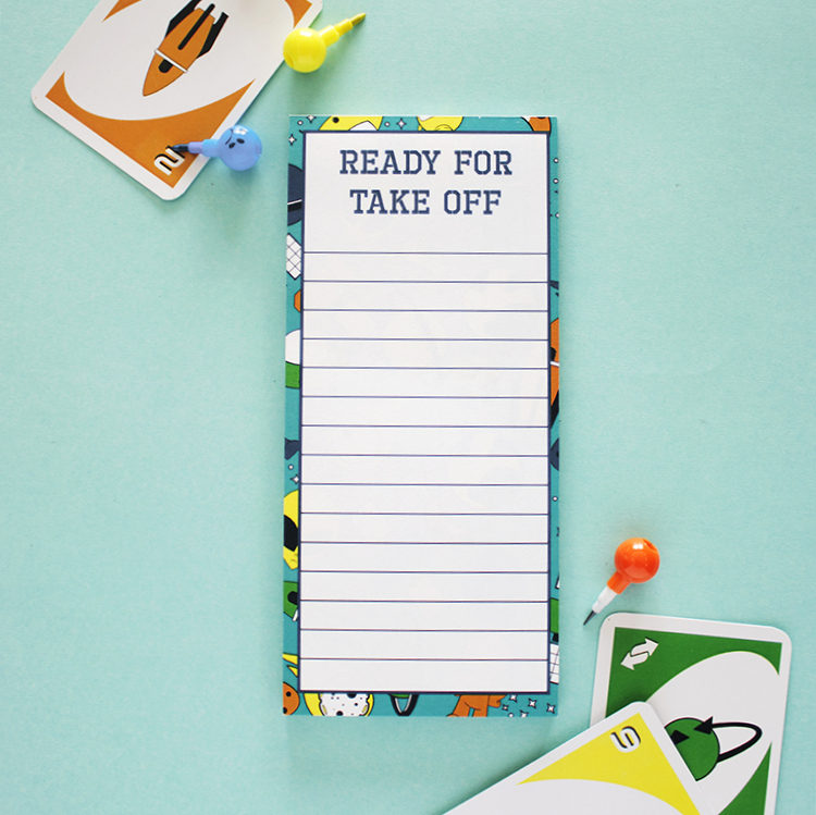 Alien Space Ranger To Do List | Magetic Listpads by The Craftables
