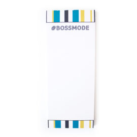 Bossmode Bookmark Listpad _ Customised Stationery _ The Craftables