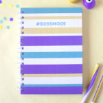 Bossmode Mellow Yellow Notebook _ Customised gifts for teens _ Gifting options by The Craftables