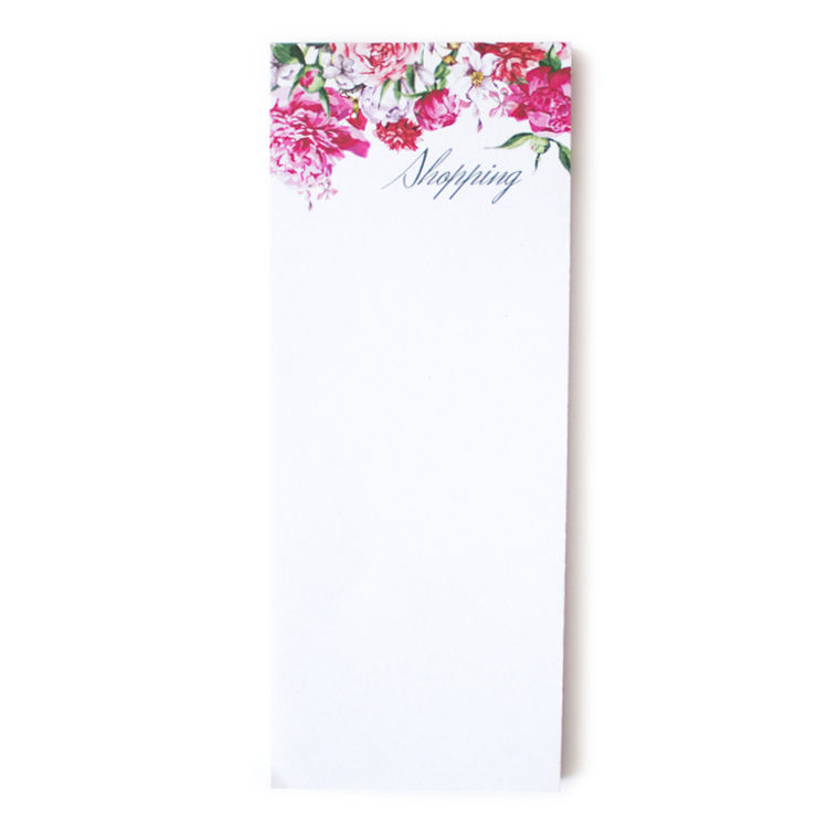 Bouquet Bookmark Listpad _ Quick pocket notepad by The Craftables