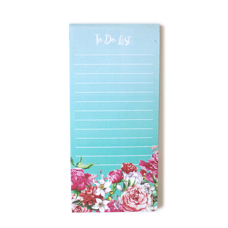 Bouquet To Do Lists _ Magnetic Listpads _ Cute floral stationery by The Craftables