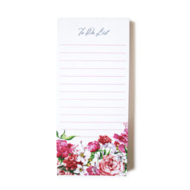 Bouquet magnetic to do lists _ Magnetic Notes floral design by The Craftables