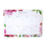 Bouquet personalised weekly planners _ 54 sheets _ Weekly organisers by The Craftables