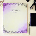 Ever After Ring Folder _ Wedding Stationery Designs _ Persoanlised Binders by The Craftables