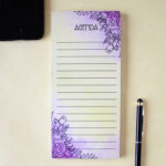 Ever After To Do List _ Magnetic Listpad _ Stationery Sets for gifting by The Craftables