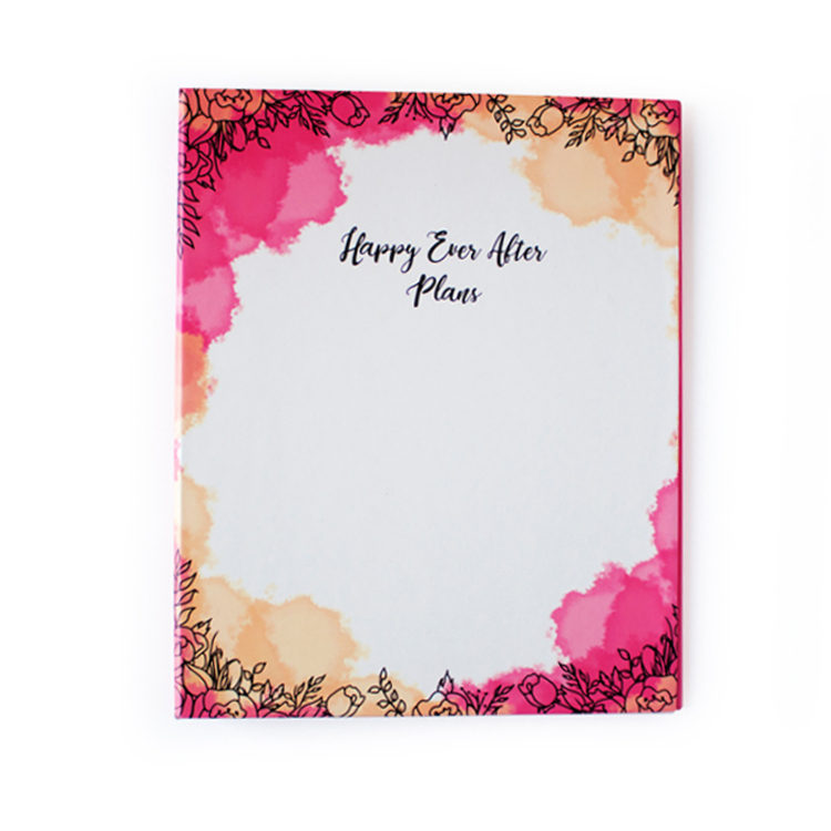 Ever After Wedding Binder _ Customised Ring Folders for wedding by The Craftables