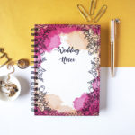 Ever After Wedding Notebook _ Customised designs _ Journals, notebooks and diaries by The Craftables