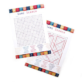 Game Night Word Search | Printable Games | Buy party games online | The Craftables