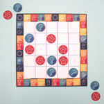Game On Apricot | popular board games | buy tic tac toe game | The Craftables