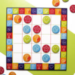 Game On Lime | Customised board games | Knots and crosses game board for 2 - 4 players | The Craftables
