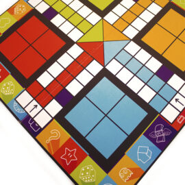 Game On Lime | Customised board games | Party game ideas | game night ludo by the craftables