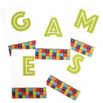 Game On Lime | Scramble for 10 people | game night ideas for all | paper games | The Craftables
