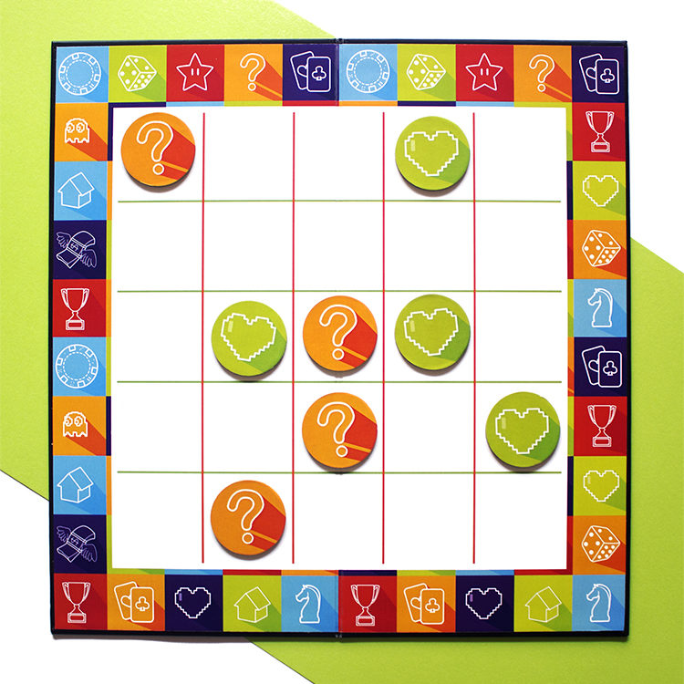 Game On Lime | buy tic tac toe game | tic tac toe board | The Craftables