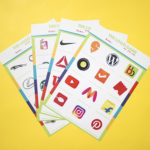 Game On Lime | game night ideas | paper games | logo challenge game | guessing games for adults | The Craftables