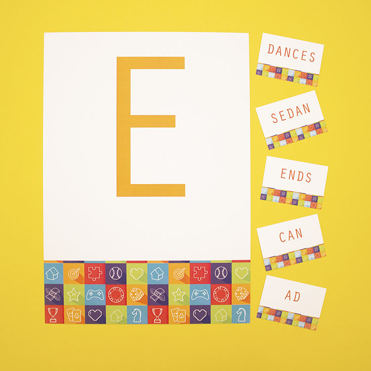 Game On Lime   word puzzles printable   letter scramble game   The Craftables