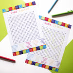 Game On Lime | word search puzzles printable | buy word search game | The Craftables