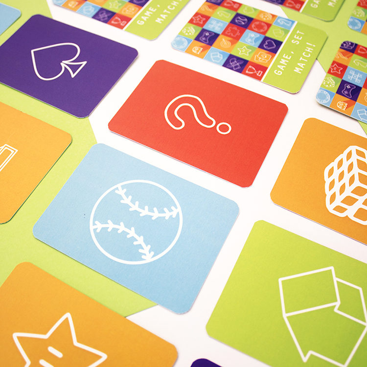 Game on Lime | creative match cards | matching card games for adults | The Craftables