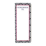 Hashtag Bookmark listpad in ruby _ Personalised stationery by The Craftables