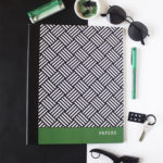 Hashtag Emerald Ring Folders _ Personalised organisation _ Customised stationery by The Craftables