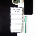 Hashtag Emerald To Do List _ Corporate Statoinery designs by The Craftables