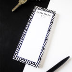 Hashtag Lapis Bookmark Listpad _ Personalised Bookmarks by The Craftables