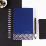 Hashtag Lapis Notebook _ Customised stationery for work by The Craftables